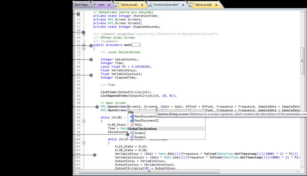 Open Test Framework - OTL Code Editor - emotive